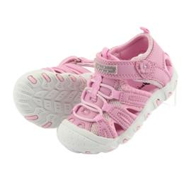 Sandałki sportowe American Club różowe 5