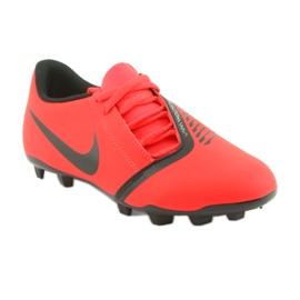 Buty piłkarskie Nike Phantom Venom Club Fg Jr AO0396-600 czerwone 1
