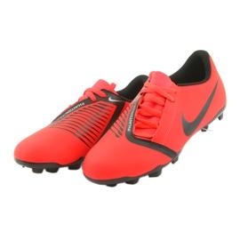 Buty piłkarskie Nike Phantom Venom Club Fg Jr AO0396-600 czerwone 3