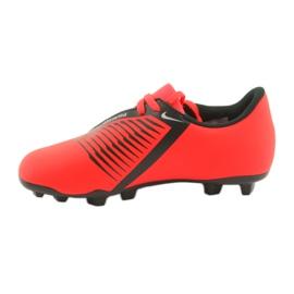 Buty piłkarskie Nike Phantom Venom Club Fg Jr AO0396-600 czerwone 2