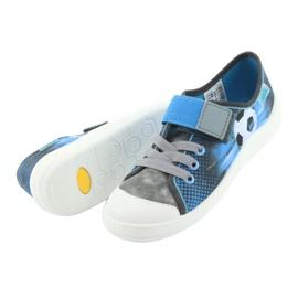 Befado obuwie dziecięce 251Y120 niebieskie szare 6
