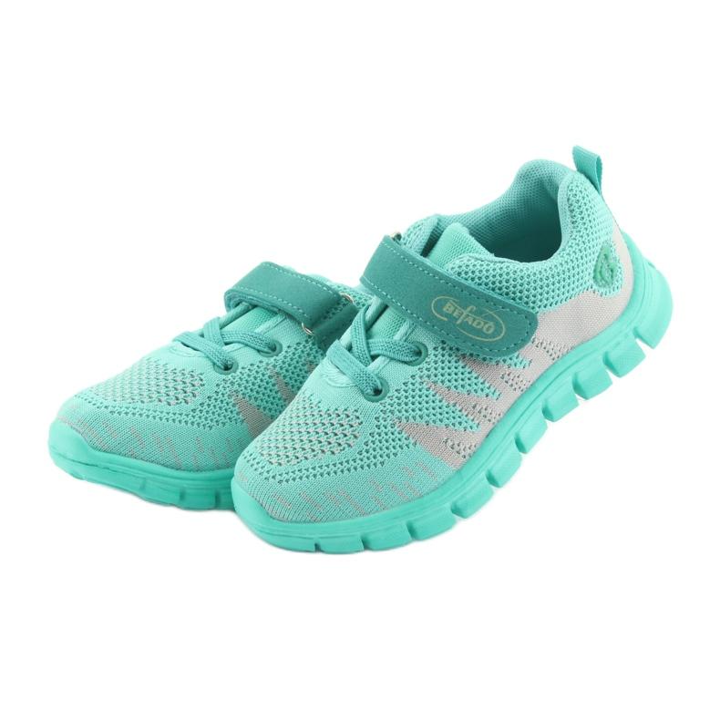 Zielone Befado obuwie dziecięce do 23 cm 516X026 zdjęcie 4