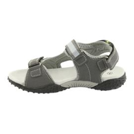 Sandałki chłopięce sportowe American Club RL18 grey szare 2