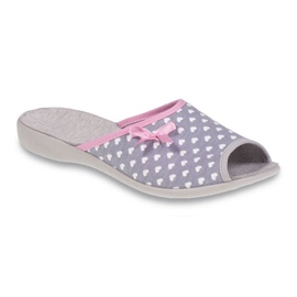 Befado obuwie damskie pu 254D064 wielokolorowe różowe 1