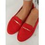 Mokasyny damskie czerwone BJ600-E25 Red zdjęcie 3