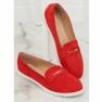 Mokasyny damskie czerwone BJ600-E25 Red zdjęcie 1