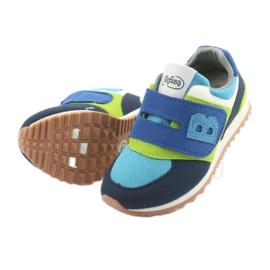 Befado obuwie dziecięce do 23 cm 516X043 niebieskie zielone granatowe 4