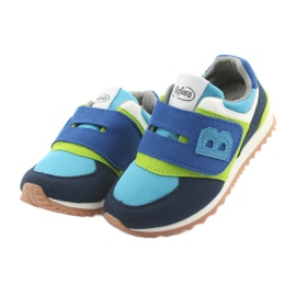 Befado obuwie dziecięce do 23 cm 516X043 niebieskie zielone granatowe 3