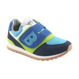 Befado obuwie dziecięce do 23 cm 516X043 niebieskie zielone granatowe 1