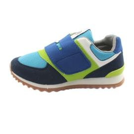 Befado obuwie dziecięce do 23 cm 516X043 niebieskie zielone granatowe 2