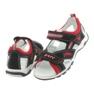 Sandałki chłopięce rzepy Bartek 16176 granatowo-czerwone 4