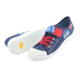 Befado obuwie dziecięce 251X101 niebieskie 7