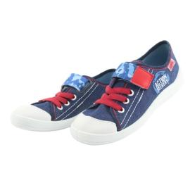 Befado obuwie dziecięce 251X101 niebieskie 5
