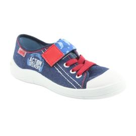 Befado obuwie dziecięce 251X101 niebieskie 3