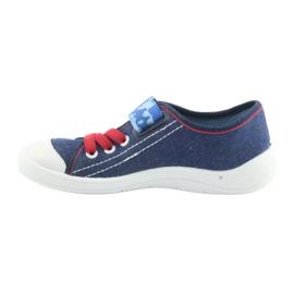 Befado obuwie dziecięce 251X101 niebieskie 4