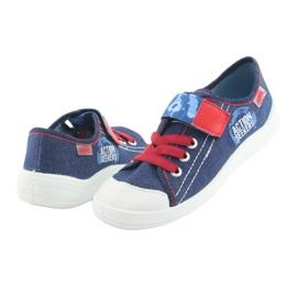 Befado obuwie dziecięce 251X101 niebieskie 6