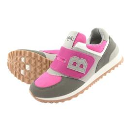 Befado obuwie dziecięce do 23 cm 516Y039 fioletowe szare 5