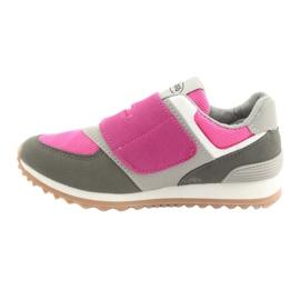 Befado obuwie dziecięce do 23 cm 516Y039 fioletowe szare 2