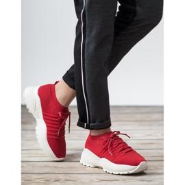 Wsuwane Sneakersy VICES czerwone 2