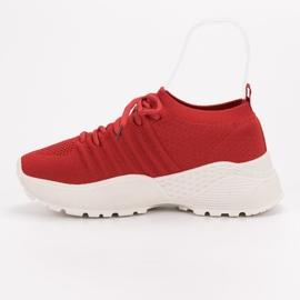 Wsuwane Sneakersy VICES czerwone 4