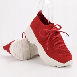 Wsuwane Sneakersy VICES czerwone 1