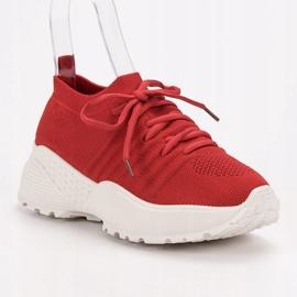 Wsuwane Sneakersy VICES czerwone 3