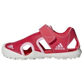 Sandały adidas Capitan Toey Jr BC0702 różowe 2