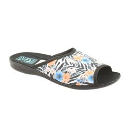 Kapcie damskie zebra Adanex 23877 1