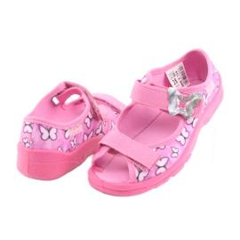 Befado obuwie dziecięce  969X134 różowe 5