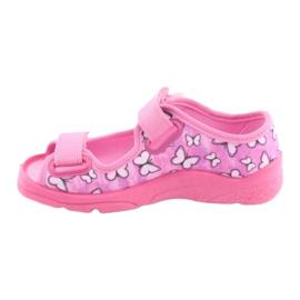 Befado obuwie dziecięce  969X134 różowe 3