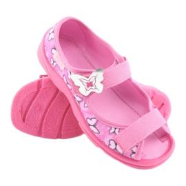 Befado obuwie dziecięce  969X134 różowe 4