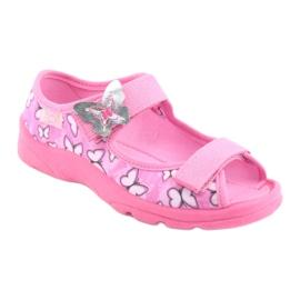 Befado obuwie dziecięce  969X134 różowe 2