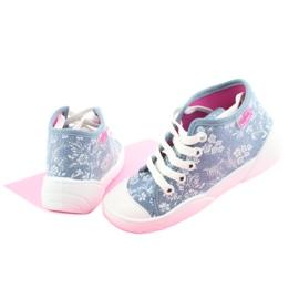Befado obuwie dziecięce 218P056 niebieskie 5