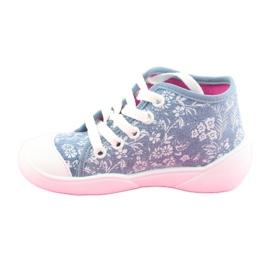 Befado obuwie dziecięce 218P056 niebieskie 3