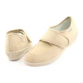 Befado obuwie damskie pu 984D011 brązowe 5