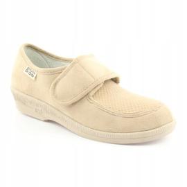 Befado obuwie damskie pu 984D011 beżowy 2