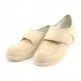Befado obuwie damskie pu 984D011 brązowe 4
