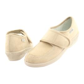 Befado obuwie damskie pu 984D011 beżowy 4