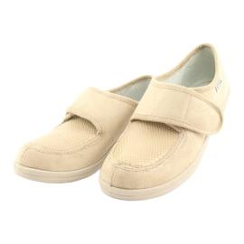 Befado obuwie damskie pu 984D011 beżowy 3