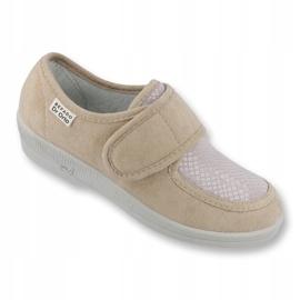 Befado obuwie damskie pu 984D011 brązowe 1