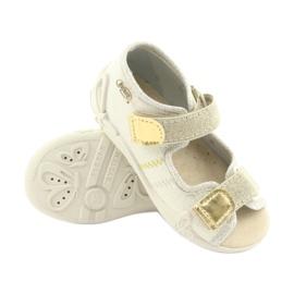 Befado żółte obuwie dziecięce 342P003 4