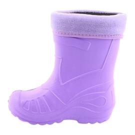 Befado obuwie dziecięce kalosz- fiolet 162P102 fioletowe 3