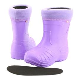 Befado obuwie dziecięce kalosz- fiolet 162P102 fioletowe 5