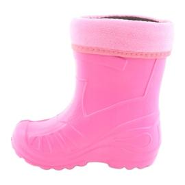Befado obuwie dziecięce kalosz- różowe 162P101 3