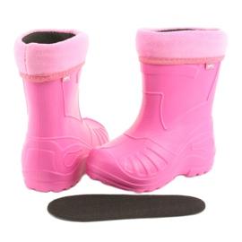Befado obuwie dziecięce kalosz- róz 162p101 różowe 4