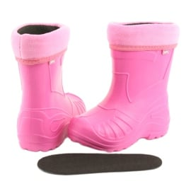 Befado obuwie dziecięce kalosz- róż 162X101 różowe 5