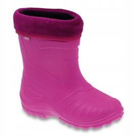 Befado obuwie dziecięce kalosz- różowe 162P101 1