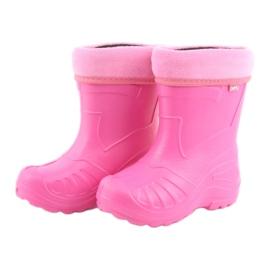 Befado obuwie dziecięce kalosz-róż 162Y101 różowe 4