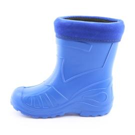 Befado obuwie dziecięce kalosz- chabrowy 162P106 niebieskie 3