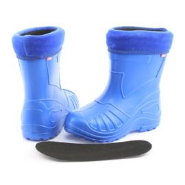 Befado obuwie dziecięce kalosz- chabrowy 162P106 niebieskie 5
